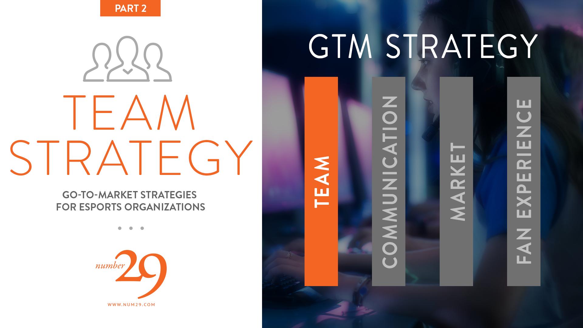 Esports Marketing :: GTM Strategy—Team