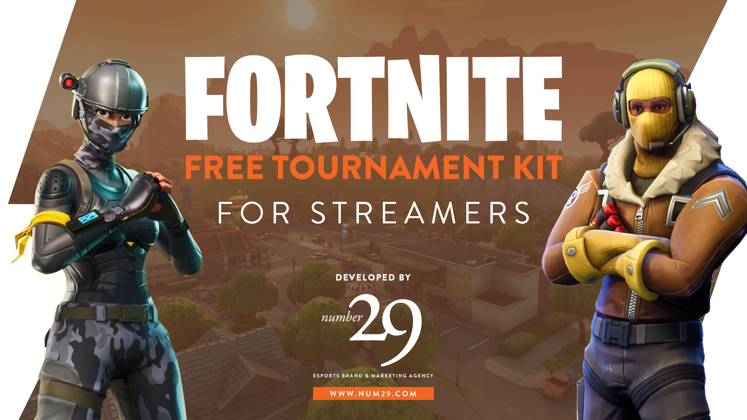 Fortnite Tournament Kit for Streamers