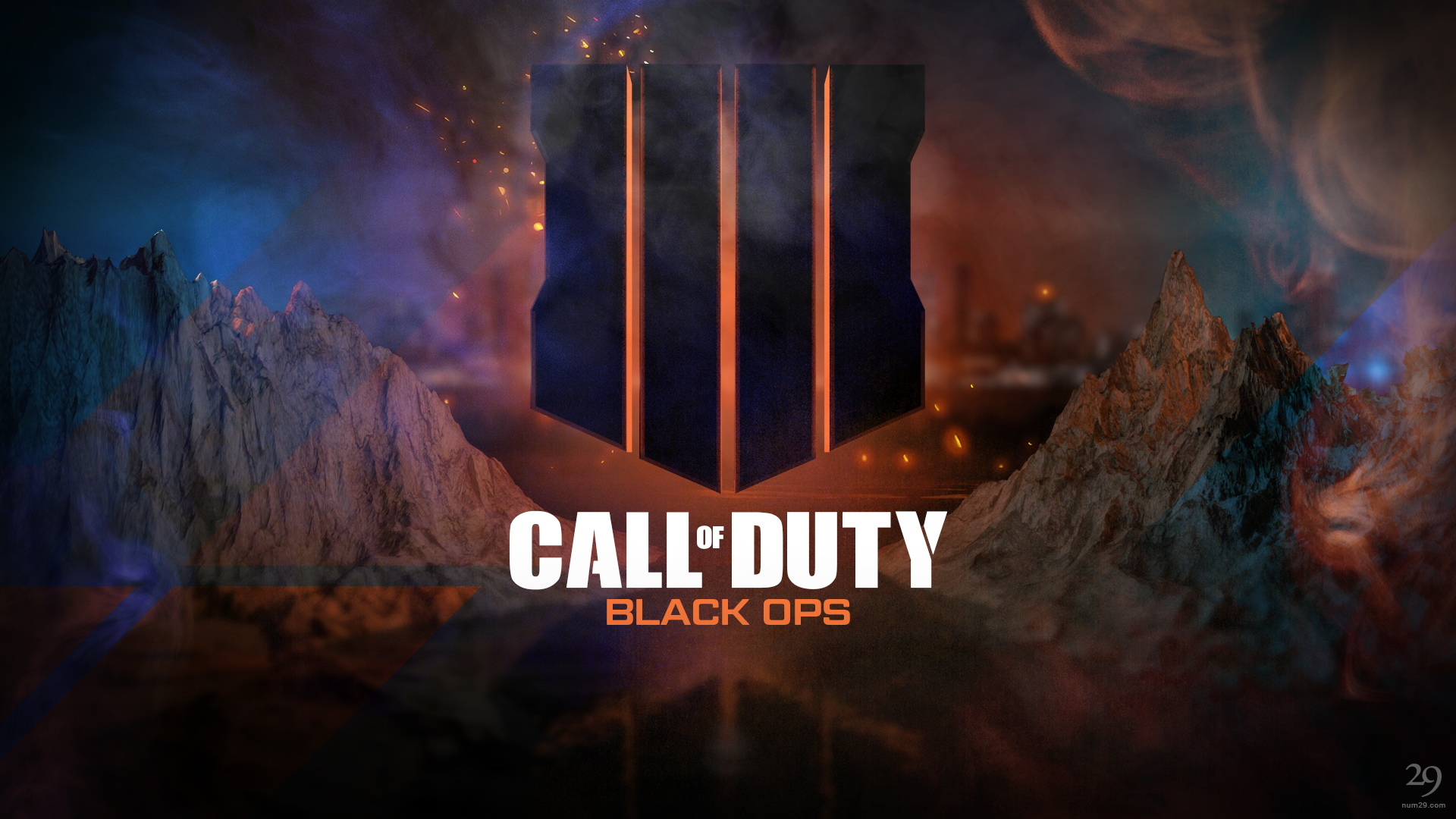 Click to Download the Call of Duty - Black Ops 4 Wallpaper by Number29